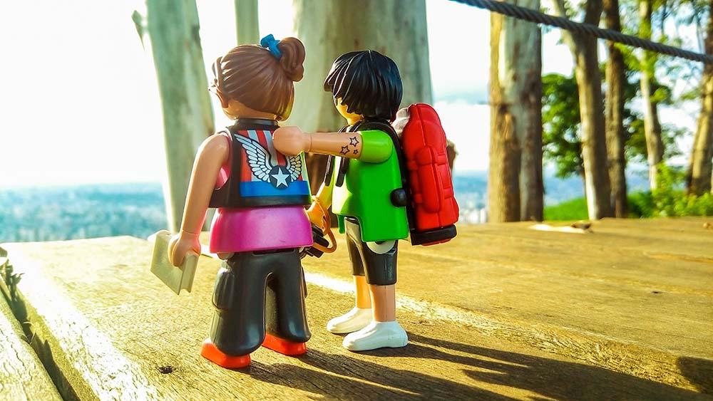 Laure utilise les Playmobils dans ses accompagnements