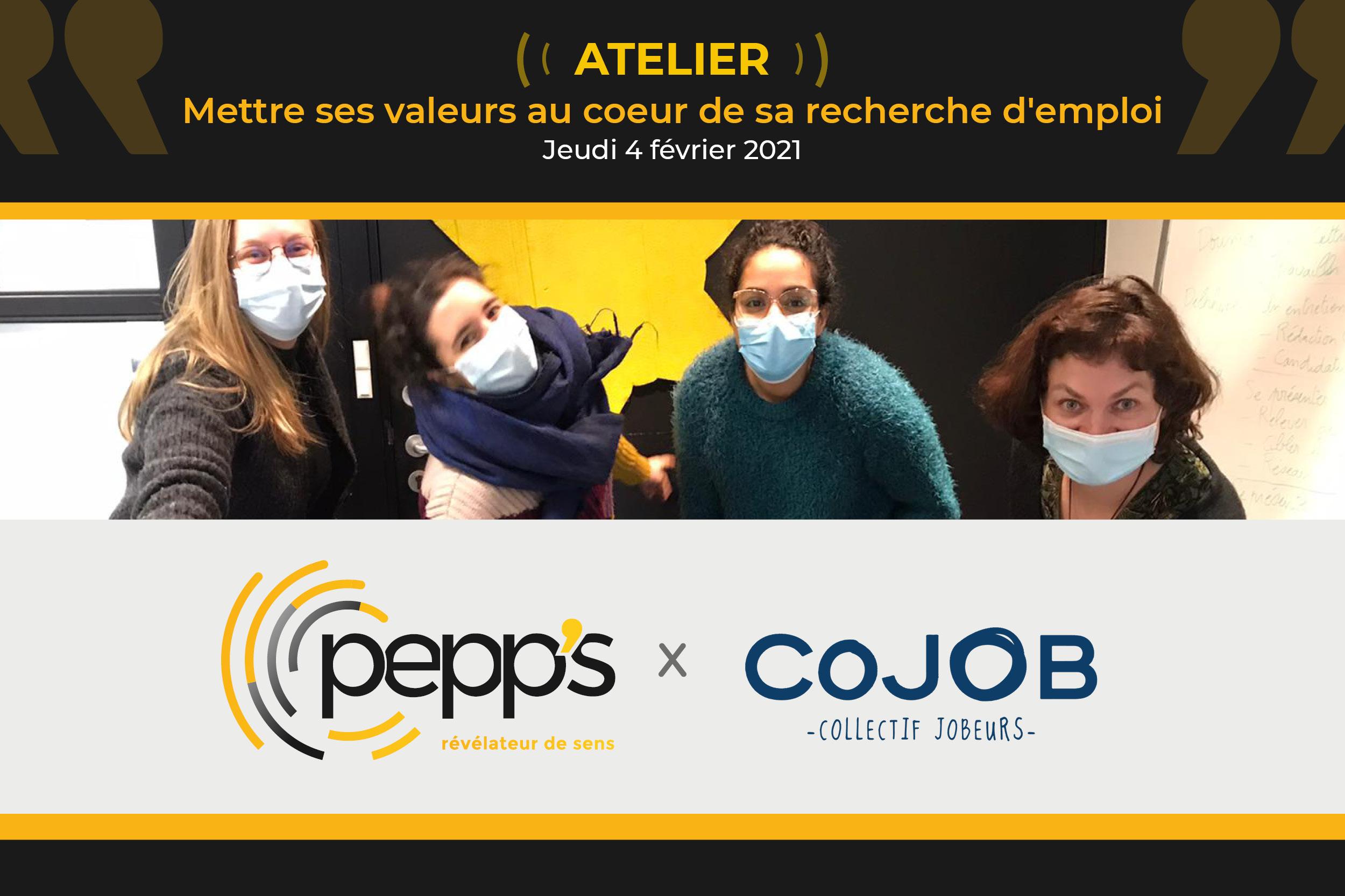 atelier valeurs pepps cojob